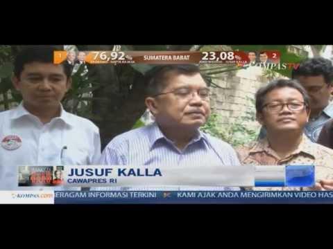 Detik-Detik Hasil Pilpres Dari KPU - Menanti Presiden Baru