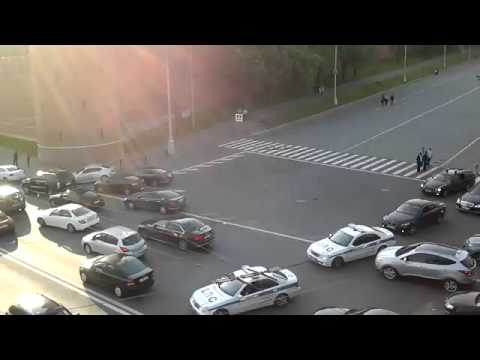 Russian President Putin Motorcade