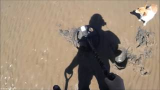 Beach detecting Ireland  - Another Gold
