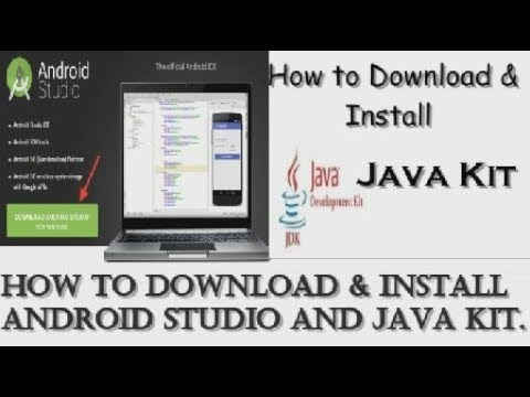 How To Download And Install Android Studio And Java Kit
