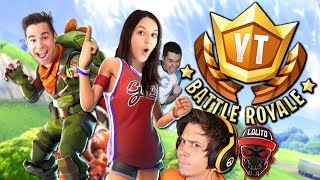 TORNEO DE YOUTUBERS - Fortnite Battle Royale #YTBattleRoyale