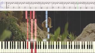 Вылечусь - Бьянка (Ноты и Видеоурок для фортепиано) (piano cover)