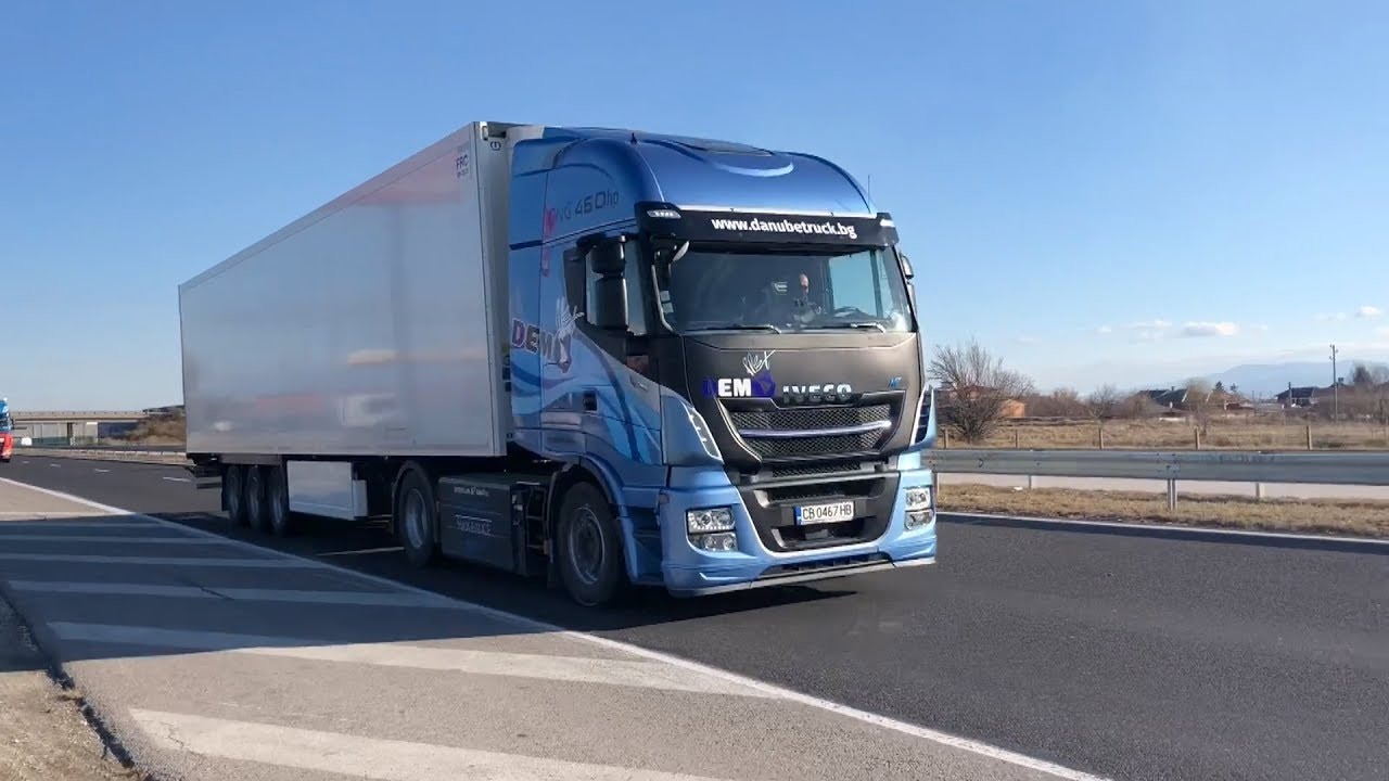 Drive Test Iveco Stralis NP 460 - YouTube