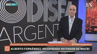 Carlos Pagni: Alberto Fernández, inesperado defensor de Macri - Editorial - Odisea Argentina