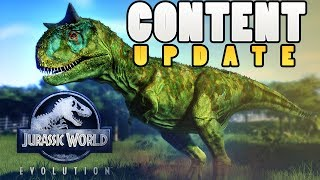 NEW CONTENT REVEALED! - Jurassic World Evolution - New Island? DLC Info & Hunting Changes - Gameplay