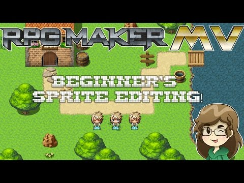 RPG Maker MV - Episode 1 - Sprite Editing for Beginners!