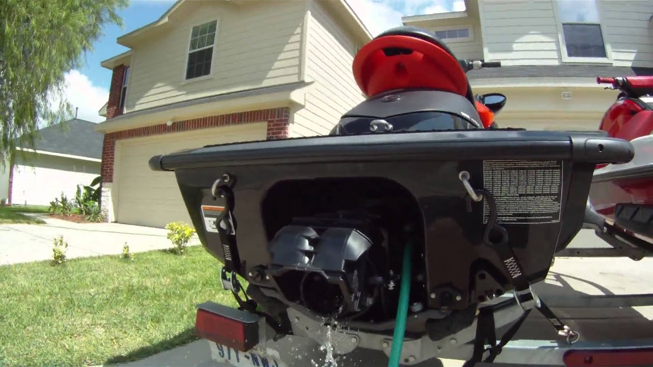 seadoo RXP X with riva racing free flow exhaust