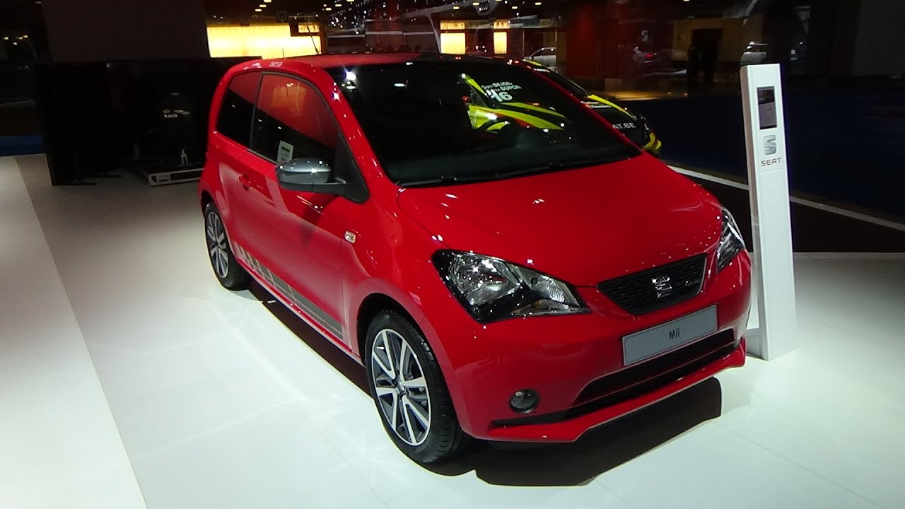 2016 seat mii sport exterior and interior auto show. Black Bedroom Furniture Sets. Home Design Ideas