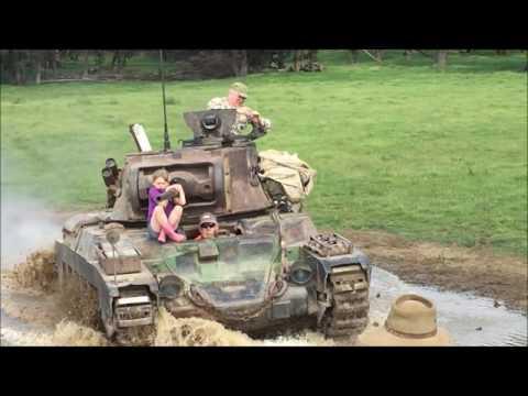 Operating Matilda Mk IIa* Infantry Tank