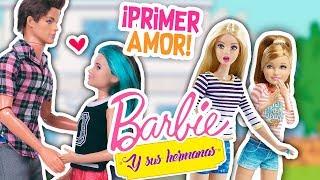 💖 BARBIE y sus HERMANAS: SKIPPER se ENAMORA y da su PRIMER BESO 💋- Juguetes Fantásticos