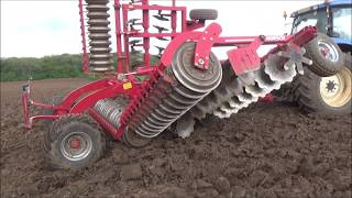 Cultivating the maize ground 2019
