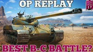 Batchat OP REPLAY Best B C battle wot blitz