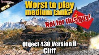 WoT: Object 430 Version II, Soviet tier 9 medium tank. WORLD OF TANKS
