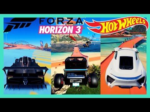 Forza Horizon 3 Hot Wheels Expansion & Cars Gameplay [DLC]