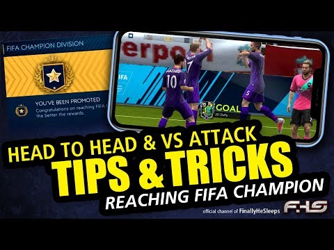 FIFA Mobile TIPS & TRICKS for Head to Head and Versus - Hidden Skill Moves, Tactics, Gameplay