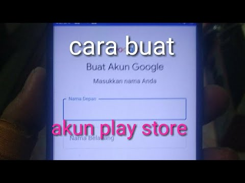 Punya HP Baru??  Cara Buat Akun Play Store Google.