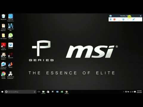 How To Update BIOS On MSI PE706QE