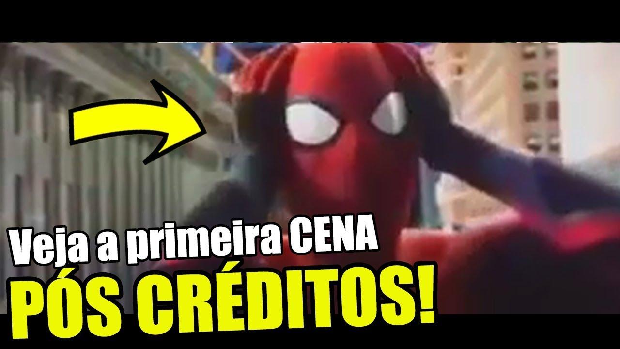 VEJA A 1ª CENA PÓS CRÉDITOS DE HOMEM ARANHA: LONGE DE CASA!
