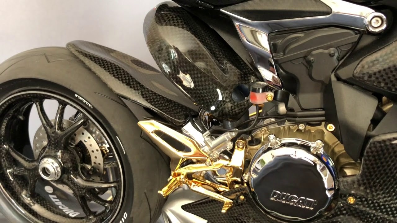 Pocher Ducati 1299 Panigale Carbon Gold Edition YouTube