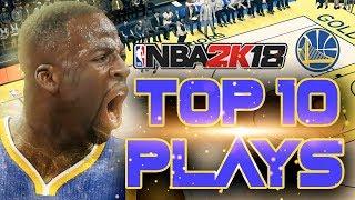 NBA 2K18 Top 10 Best Plays - Golden State Warriors