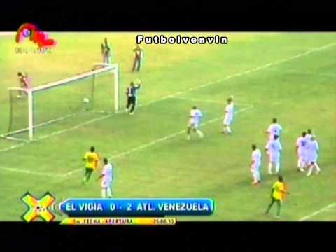 Atletico El Vigia FC - Atletico Venezuela SC. Torneo Apertura 2013. Jornada Nº 3