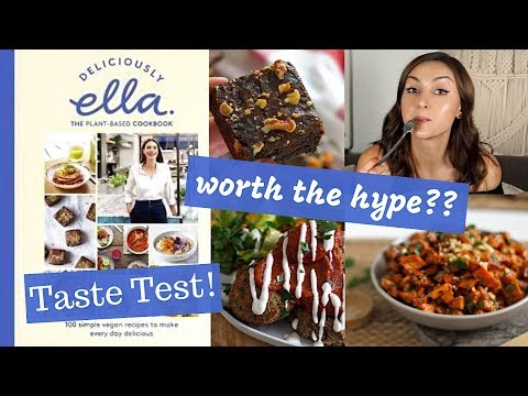Deliciously Ella 'The Cookbook' Review + Taste Test!