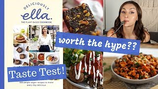 Reviewing and taste testing recipes from deliciously ella's newest cookbook called the plant - based cookbook! lentil balls notes: i used 5 tbsp of buckwheat...