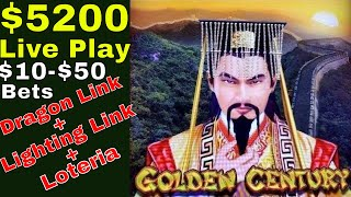 $5200 Live Play | Viewers & Subscribers Request 🆖 Dragon Link, Lighting Link & Loteria Lock It Link