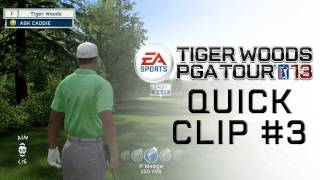 Tiger Woods PGA TOUR® 13 Raw Gameplay - How to Adjusting Your Stance