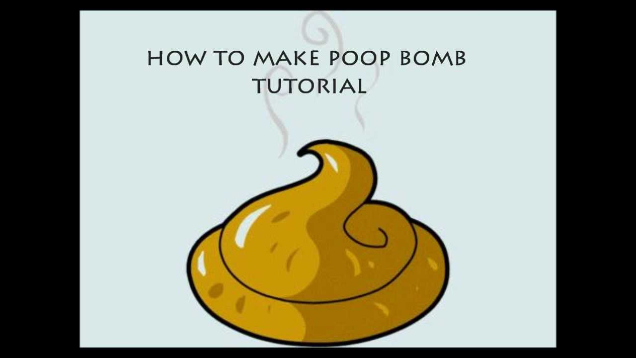 HOW TO MAKE A POOP BOMB TUTORIAL - YouTube