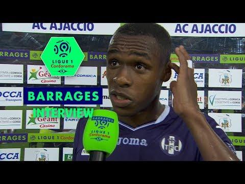 Interview de fin de match : AC Ajaccio - Toulouse FC (0-3) / Barrage Aller / 2017-18