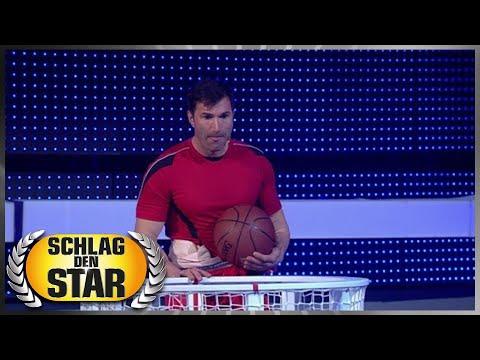 Spiel 12 - Schieben und Werfen - Schlag den Star