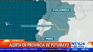 Perú inicia estado de excepción en frontera con Colombia por disidentes de las FARC