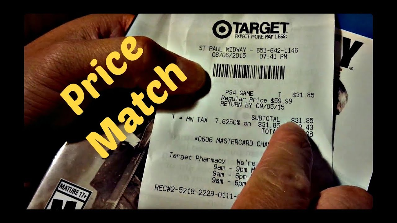 walmart target price match policies youtube. Black Bedroom Furniture Sets. Home Design Ideas
