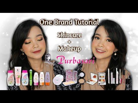 terlengkap-!!!-purbasari-one-brand-skincare-&-makeup-tutorial-|-indonesia-subtitle-|-primadita-r