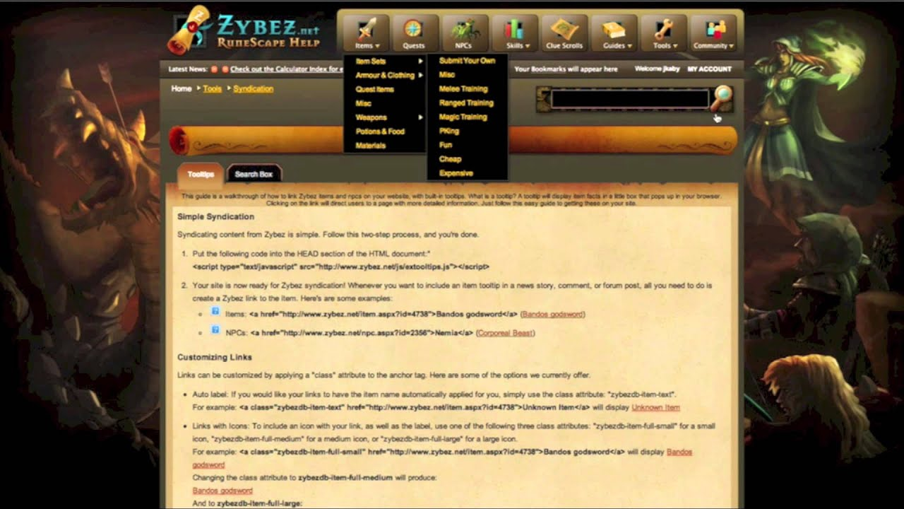 runescape guide zybez net youtube