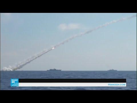 ضربات صاروخية روسية على أهداف لتنظيم الدولة الإسلامية في محافظة حماة