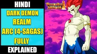 Dark Demon Realm Saga Full Explained in Hindi - Super Dragon Ball Heroes ARC