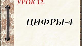 Русский язык для начинающих. УРОК 12.  ЦИФРЫ-4