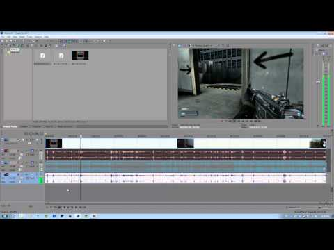 Tutorial: Cleaning Audio Noise / Removing the Hiss (Sony Vegas Pro and Audacity)
