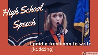Funny Graduation Speech