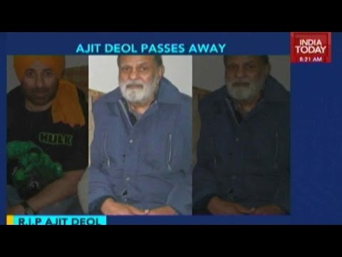 Abhay Deol's Father Ajit Singh Deol Passes Away