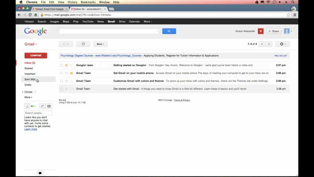 how to cancel gmail email