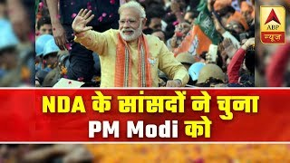 PM Modi Unanimously Elected As Leader Of NDA Alliance | ABP News