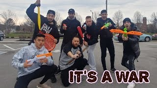 Real Life FORTNITE ft. Ireland Boys - Imjaystation - Moe Sargi - Omargoshtv BATTLE IT OUT