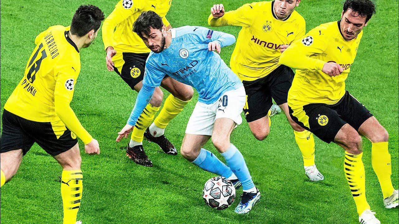 Bernardo Silva vs No Space..