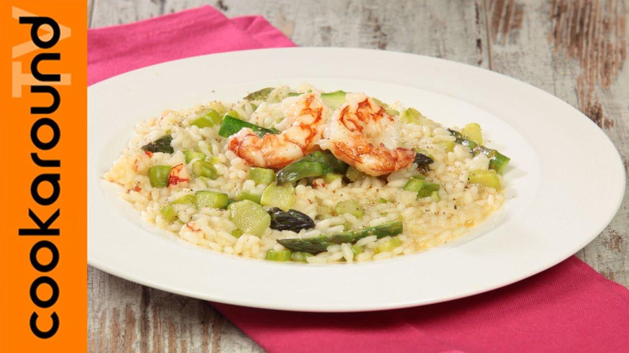Risotto asparagi e gamberi ricette risotti sfiziosi for Ricette risotti