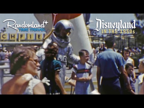 Disneyland in the 1950s, Time Travel to Tomorrowland and Fantasyland!