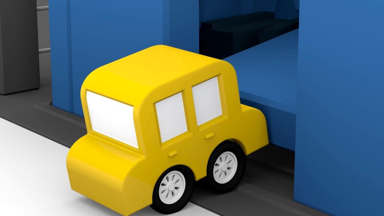 lehrreicher zeichentrickfilm die 4 kleinen autos der gef ngnisausbruch youtube. Black Bedroom Furniture Sets. Home Design Ideas