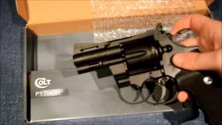 Umarex Colt Python .357 Unboxing - Plastic Version